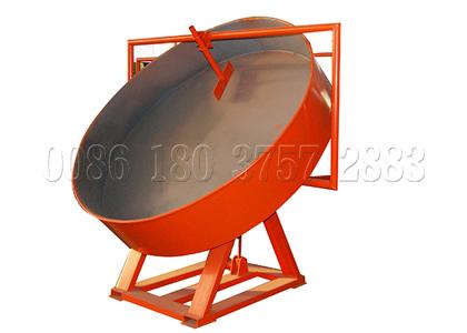 Pan chicken manure granulator