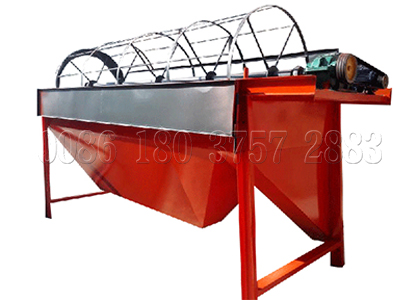 Rotary screener for pelleted organic fertilizer classifying