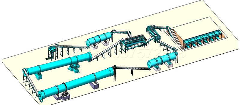SEEC machines for NPK fertilizer production line