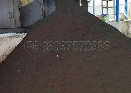 Animal poop compost fertilizer making process