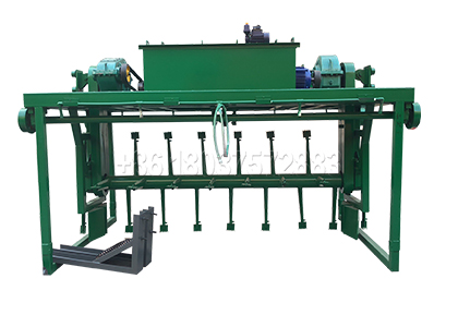 Groove type manure compost turning machine
