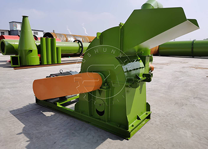 Machines for you to turn chicken litter into fertilizer powder