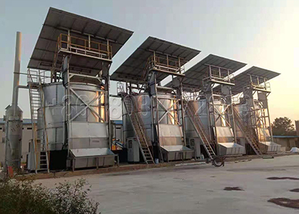 Poultry manure disposing machines