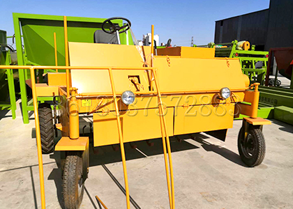 SEEC customized windrow turner machine for small fertilizer plant
