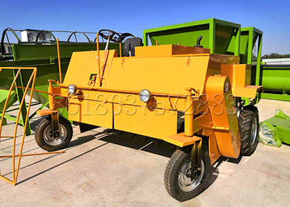 Small size composting machine