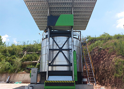 in vessel composting machine