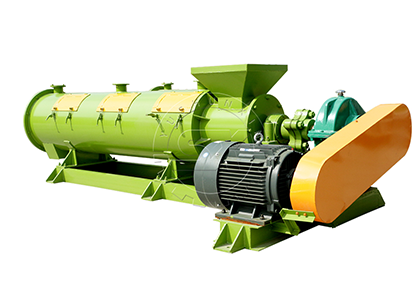 High yield organic fertilizer pellet mill