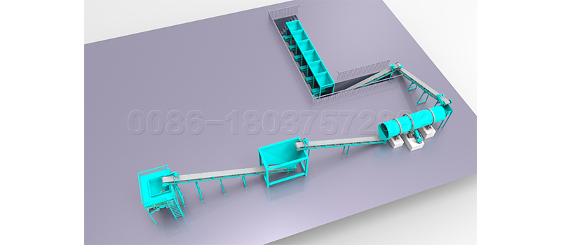 SEEC simple fertilizer granulation machine 20 ton per hour