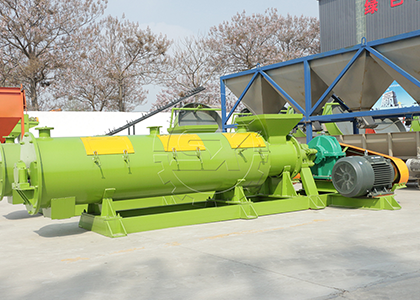 Wet type organic fertilizer pelletizer machine